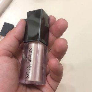 Smashbox metallic liquid lipstick in pearl! Pink